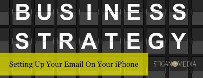 blog banner-email setup