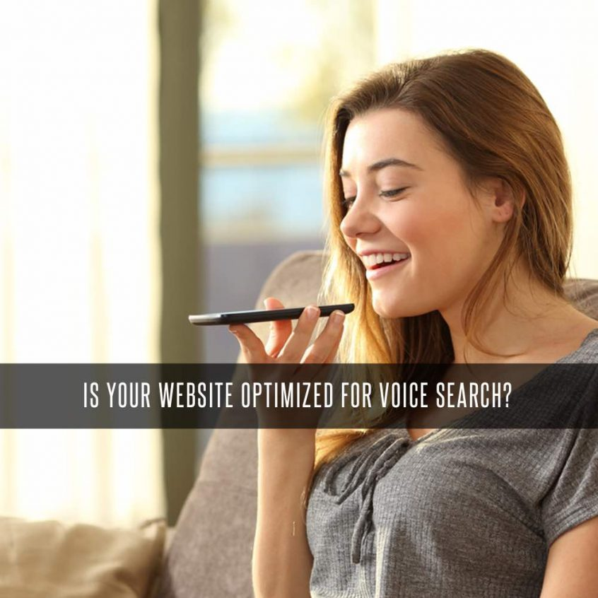 website optimized for voice search