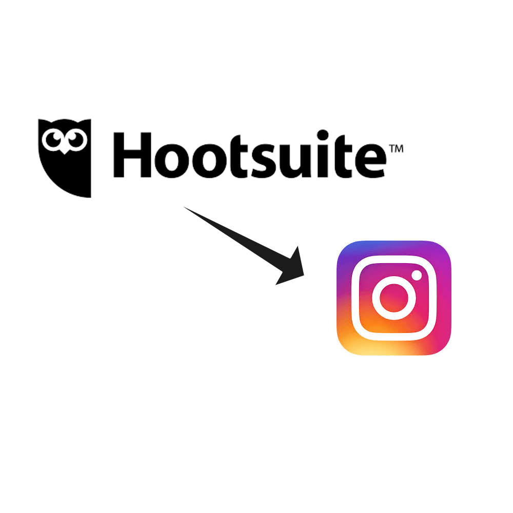 Hootsuite and Instagram logo