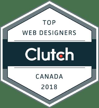 clutch top web designer award badge