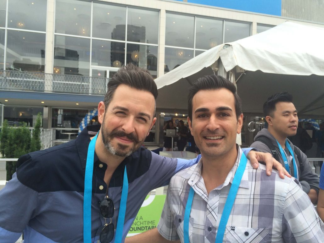sandro with rand fishkin at Unbounce CTA Conf