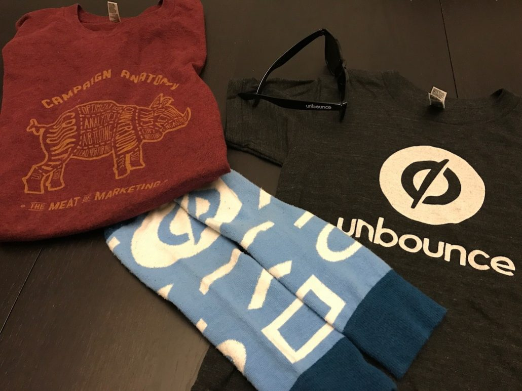 unbounce swag